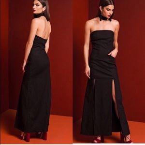 🆕 Stone Cold Fox Primrose Maxi Gown in black
